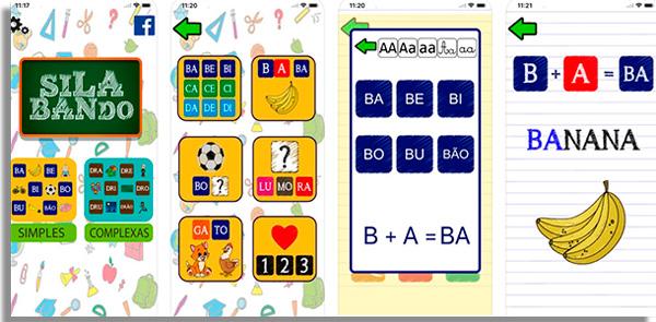 aprenda as silabas com interatividade