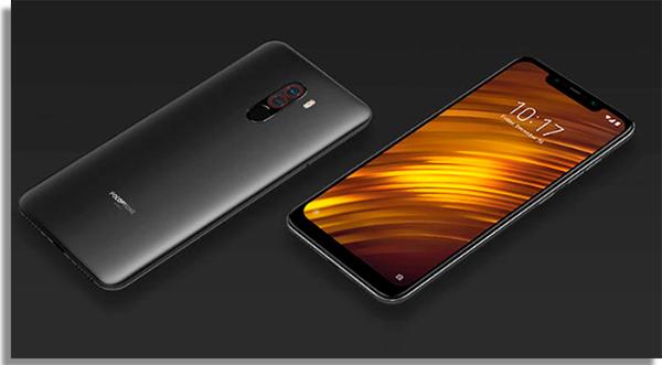 Xiaomi Pocophone F1 celulares en relación calidad-precio