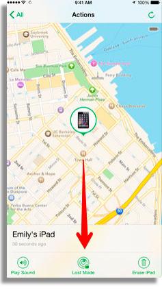 bloqueie seu iphone para impedir acesso aos dados