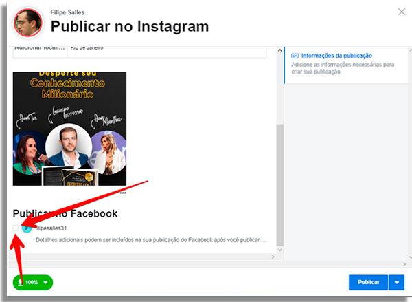 como agendar posts direto instagram compartilhar