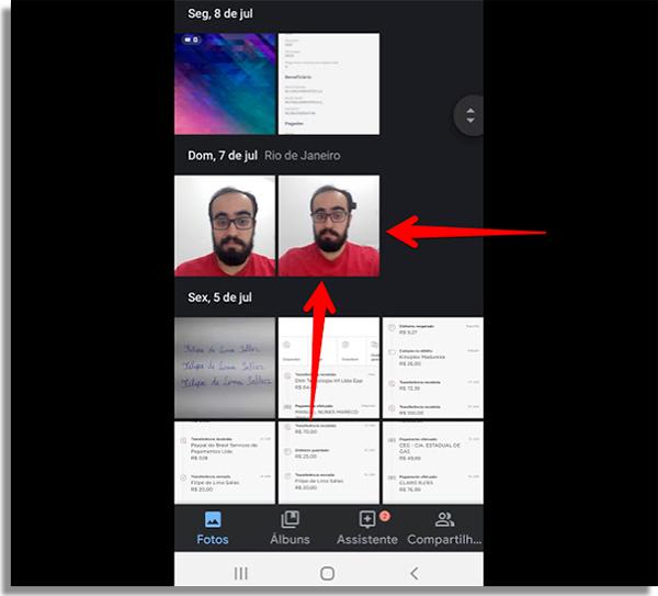 como recuperar fotos apagadas android encontrar