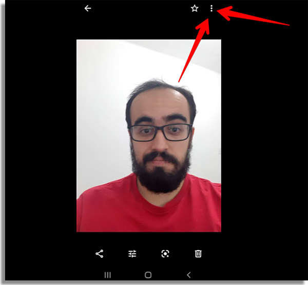 como recuperar fotos apagadas android menu