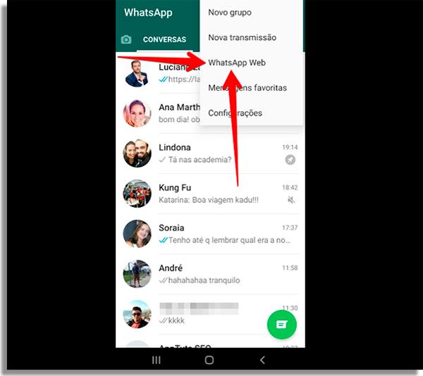 como recuperar mensagens apagadas whatsapp web