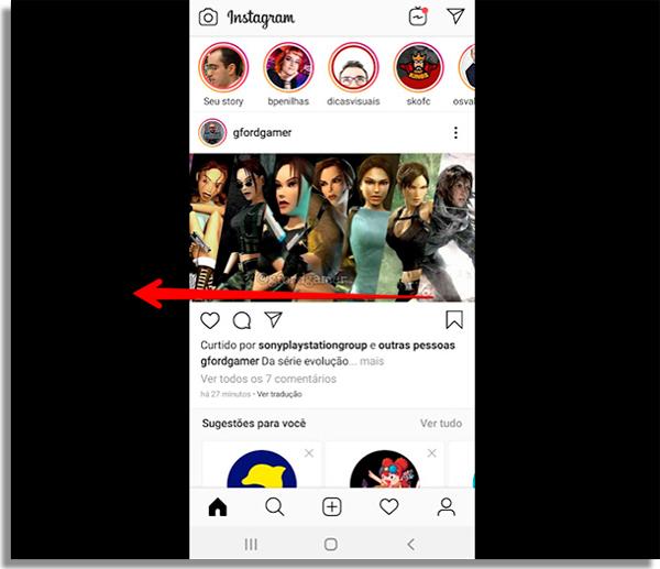 como responder perguntas instagram inicio
