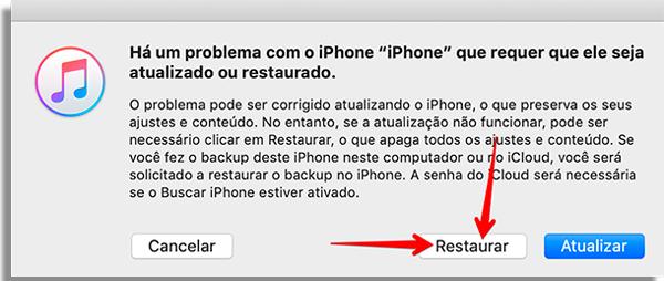 restaure seu celular as configuracoes de fabrica