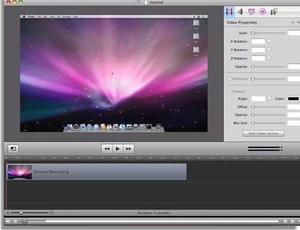 melhores editores de foto e vídeo screenflow