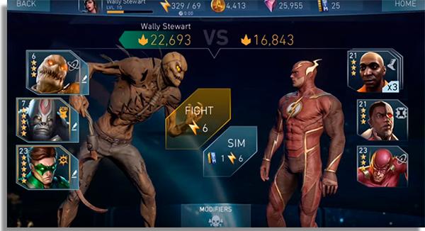 melhores jogos luta android injustice