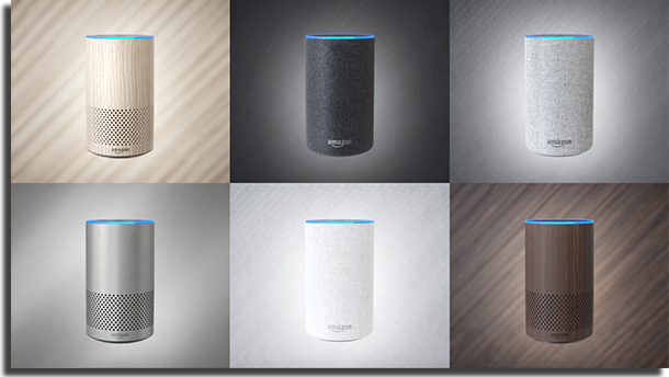 Amazon Echo 2nd Gen Alexa Design