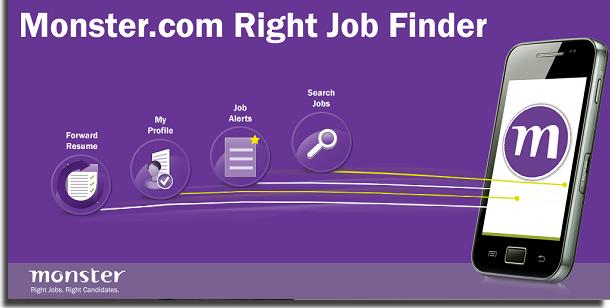 aplicativos para procurar emprego monster