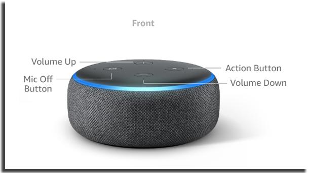 Echo Dot Botões