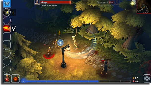 jogos de MMO para Android Eternium