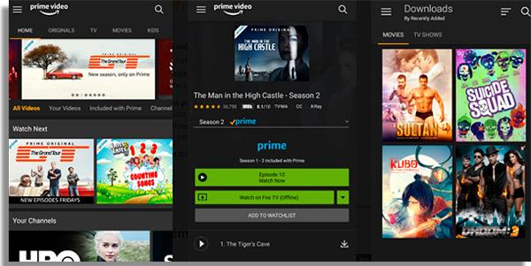 fire tv stick apps amazonprime
