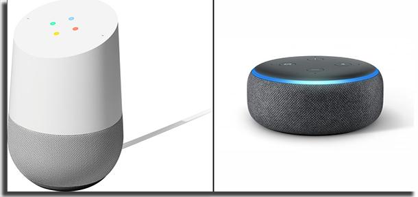 Alexa vs Google Home