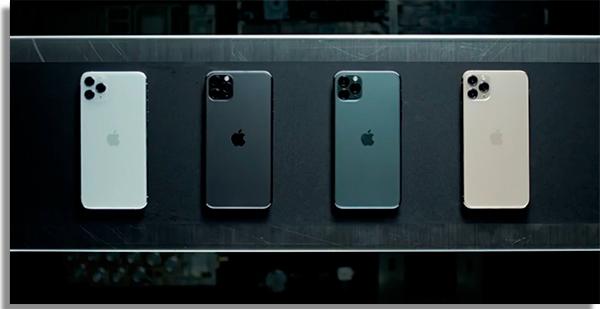 cores do smartphone