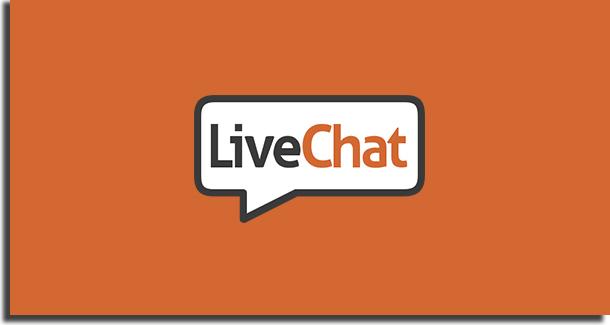 Melhores chats online LiveChat