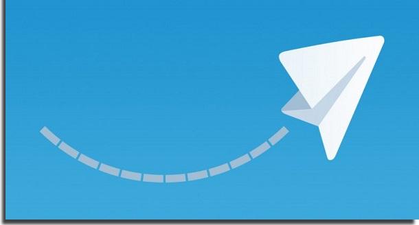 o que é telegram logo