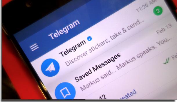 o que é telegram novidades