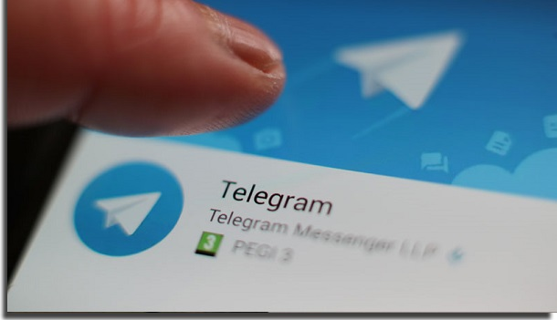 telegram smartphone