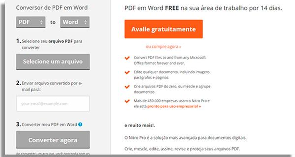 transformar pdf word pdftoword