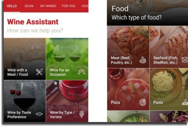 aplicativos de vinho hello vino