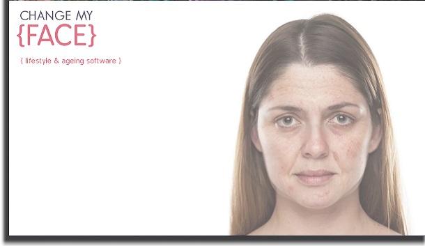 aplicativos para envelhecer change my face