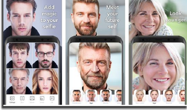 aplicativos para envelhecer f
