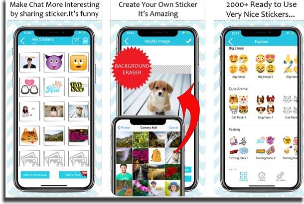 aplicativos para whatsapp sticker maker