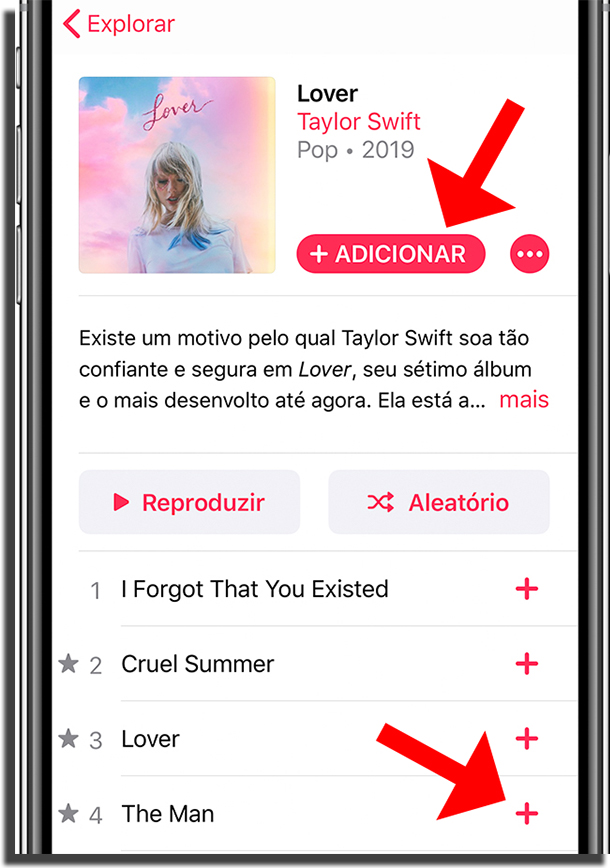 Faça download de suas músicas