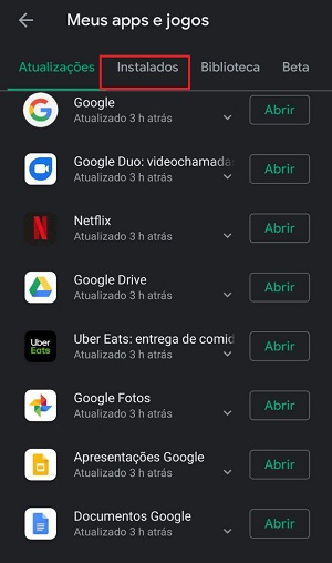 apps no google play