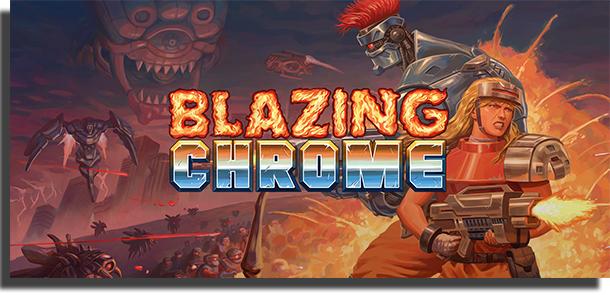 jogos para jogar em dupla - Blazing Chrome