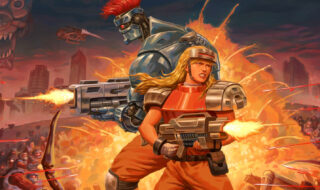 Blazing Chrome destaque