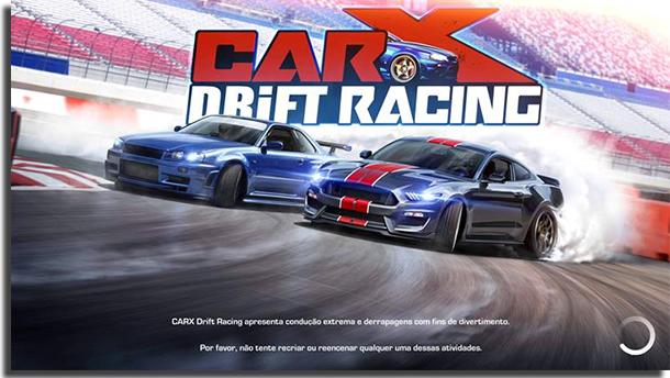 Jogos de carro offline CarX