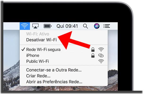 Desativar WiFi
