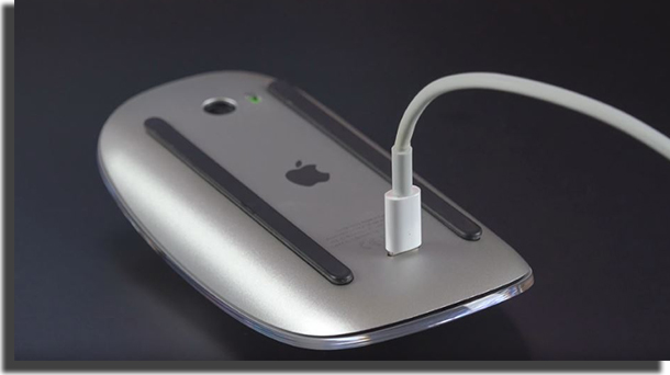 Magic Mouse carregando