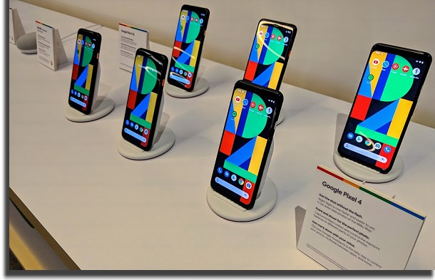 novo smartphone do google