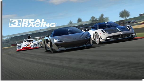 Jogos de carro offline Real Racing 3