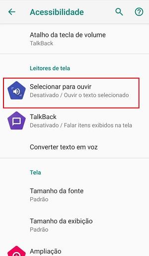 segredos do android conversão de texto