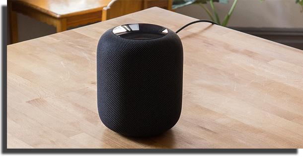 Apple Homepod conectado ao Spotify