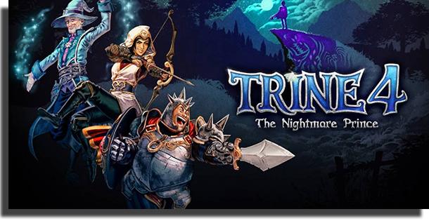 Melhores jogos co-op para PC - Trine 4