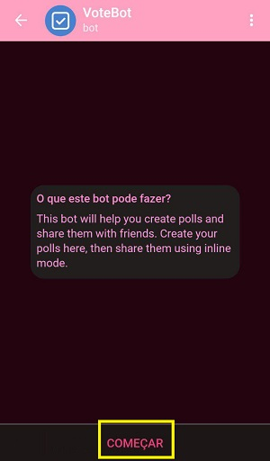 usar bots para perguntas