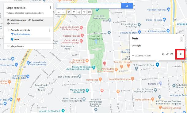 usar marcadores no google maps