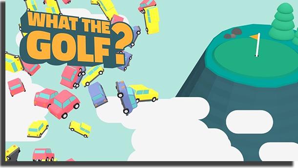 What the Golf Apple Arcade jogos