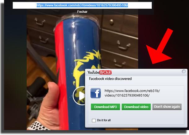 Baixar vídeos privados do Facebook