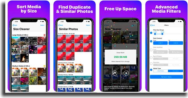 phone cleaner Aplicativos para liberar memória no iPhone