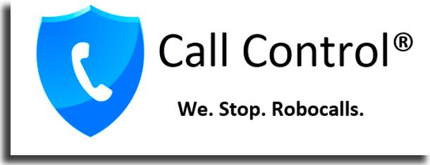 silenciar chamadas desconhecidas call control