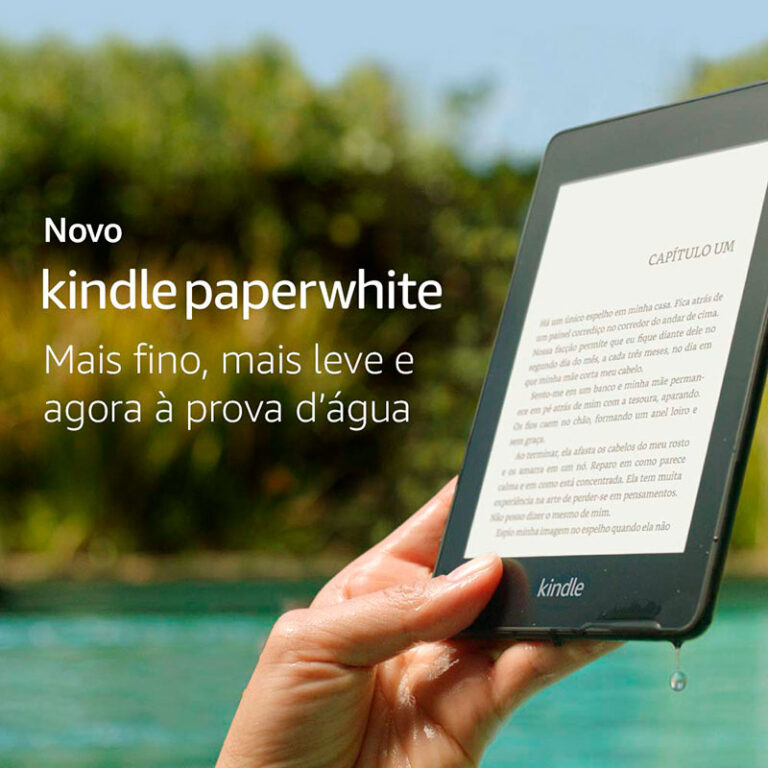 Kindle vs Kindle Paperwhite: qual escolher?