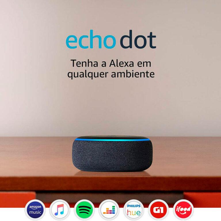 Amazon Echo Dot: tudo o que precisa saber
