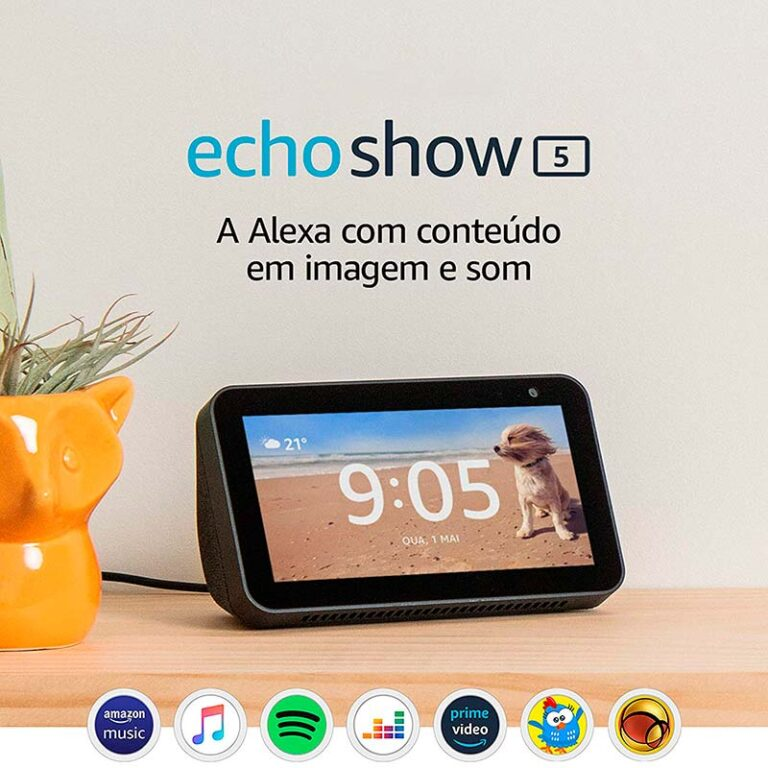 Amazon Echo Show 5: tudo o que precisa saber