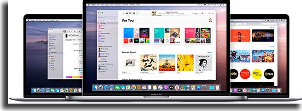 apps de mídia macOS Catalina