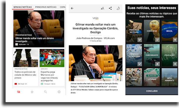 Microsoft Notícias aplicativos para ler notícias